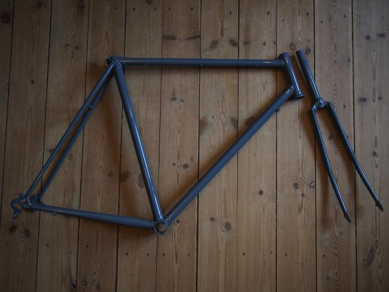the frame, painted